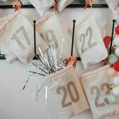 DIY Advent Calendar for toddlers
