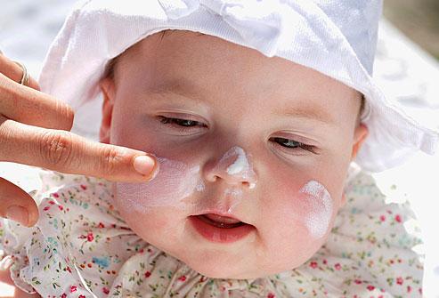 ruam bayi zinc oxide