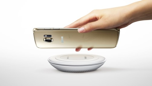 galaxy s6 edge+ wireless charging