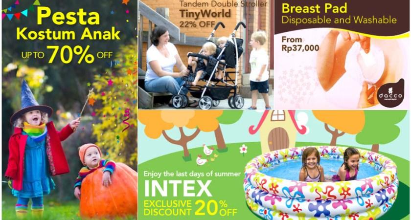 Jual Perlengkapan Bayi Baru Lahir Murah dan Berkualitas Secara Online