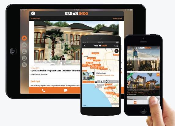 UrbanIndo Rumah Dijual Jual Beli Sewa Rumah Tanah Properti
