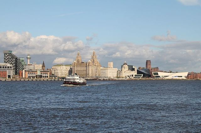 Liverpool Pier Head and Mersey Ferry