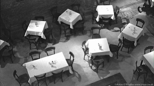 Martin-Gropius-Bau Berlin 1982 - tables