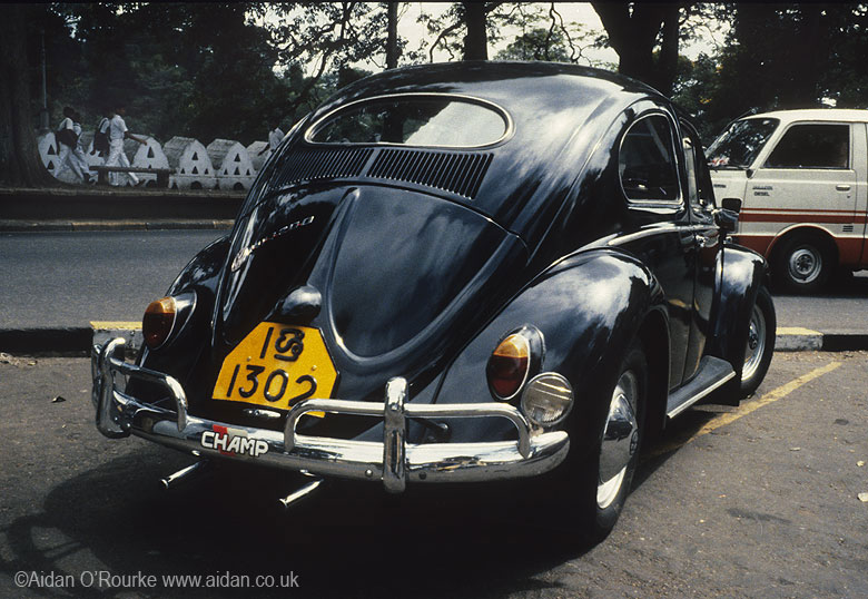 VW Beetle, Kandy, Sri Lanka
