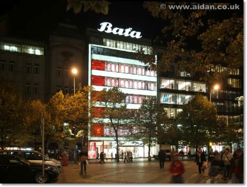 Prague Bata Building side view