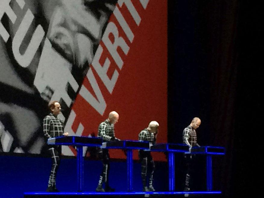 Kraftwerk live in Brighton 07.06.2017