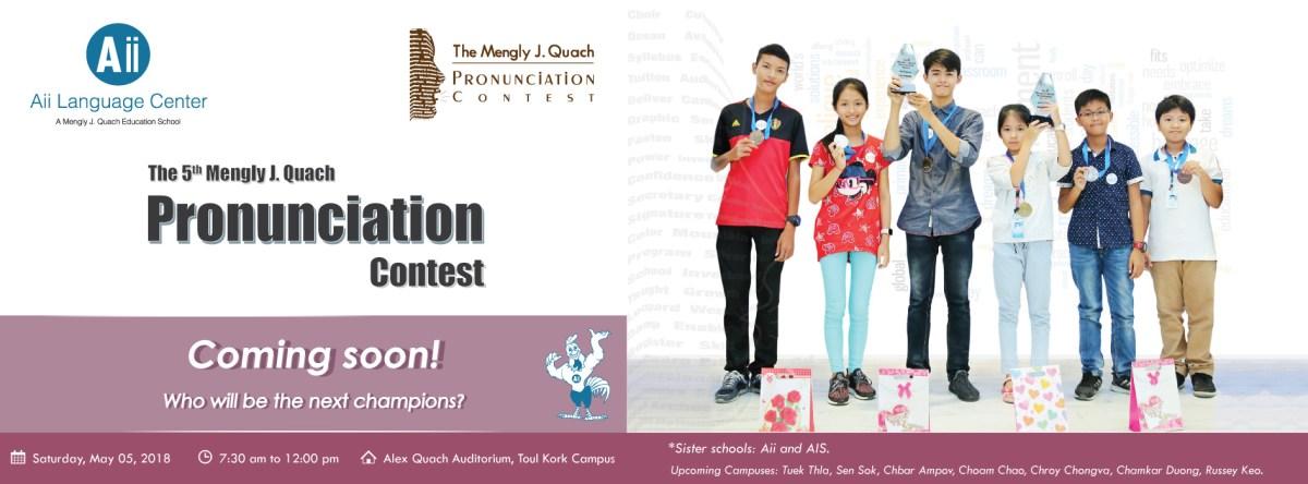 pronunciation-contest