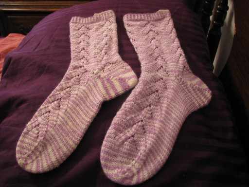 No purl monkey socks
