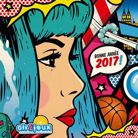Carte de Voeux - 2017 - Air2jeux