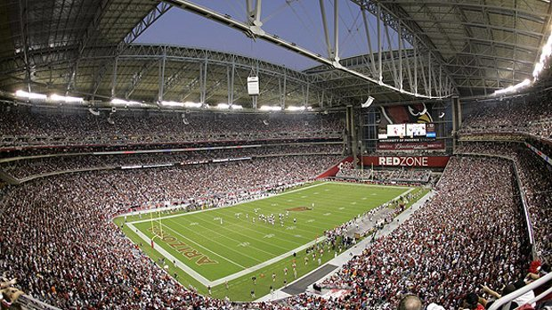 University of Phoenix Stadium, football, natural turf, nfl