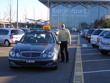 EuroAirport Flughafen Taxi Service Basel