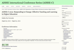 AISHE Conference Image