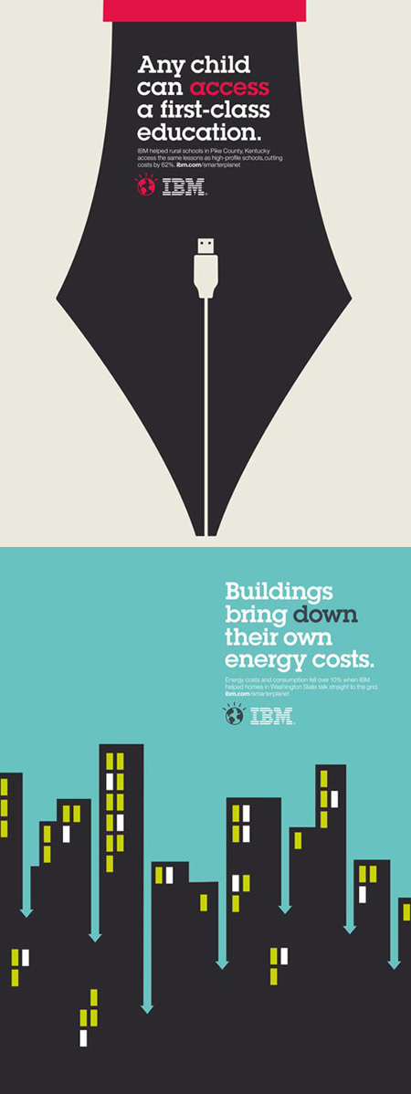 Ibm smarter planet posters
