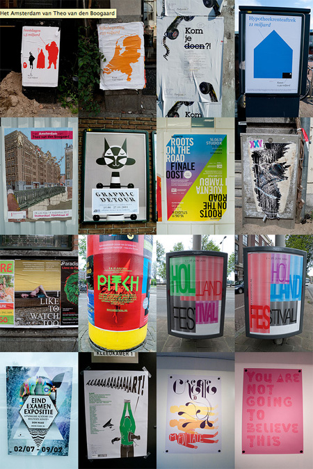 Posters in amsterdam