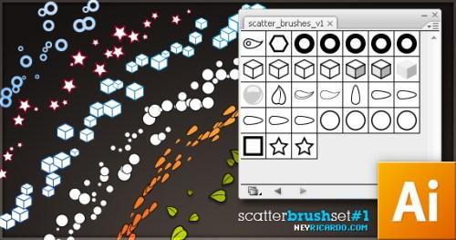 scatter brush set by neyRicardo