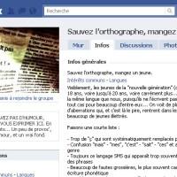 Facebook et la langue française