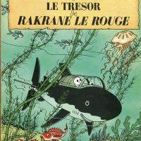 Parodie album de Tintin - Rackham Le Rouge