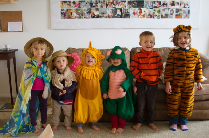 October Preschool: Outdoor Life and Halloween