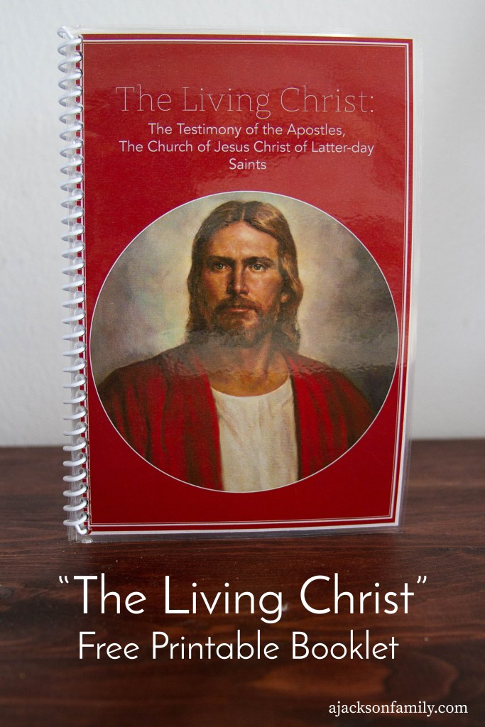 The Living Christ Printable Booklet