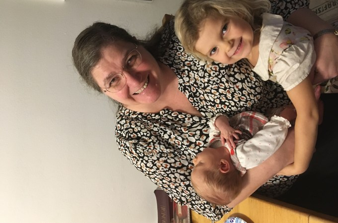 The First Six Weeks Part Two: Grandma Jackson Visits!