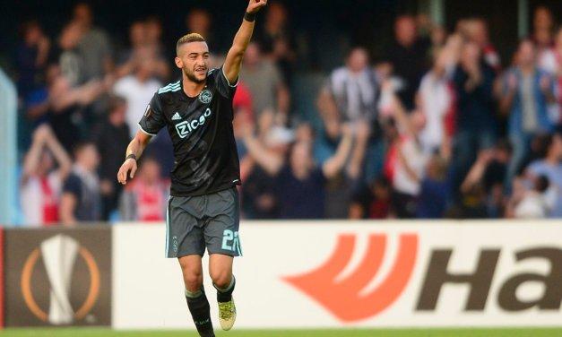 Ajax in wedstrijd vol mooie doelpunten naast Celta