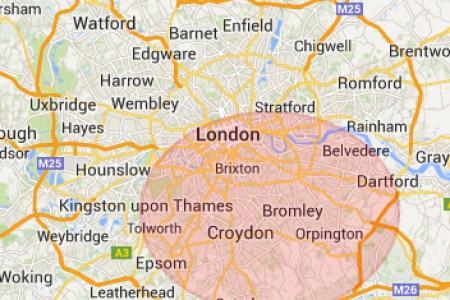 south london map