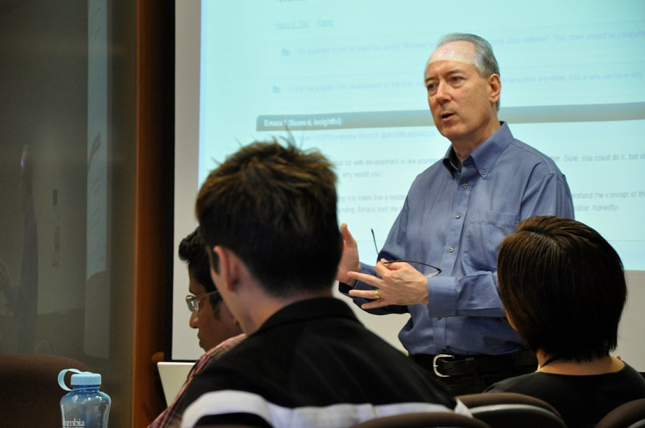 Online journalism guru Dan Gillmor gave a workshop on social media as part of the AJF 2011 programme.