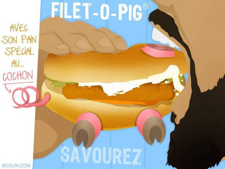 Mc Donalds : du porc dans le pain du Filet-o-Fish