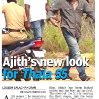 Ajith's New Look for Thala 55