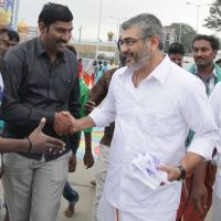 Ajith Vists Tirupathi Stills