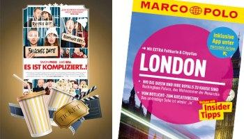 """Gewinne Kinokarten zu """"Es ist kompliziert"""" und einen Marco Polo London Reiseführer"""