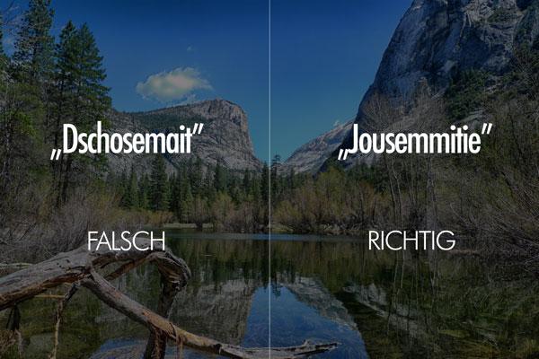 Aussprache Yosemite