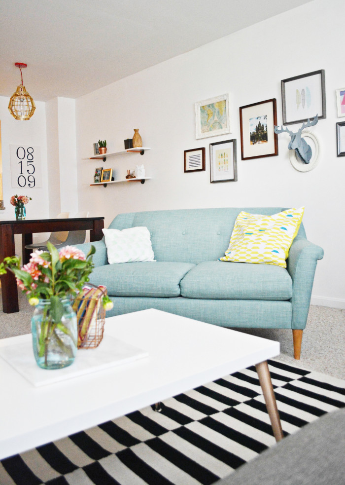 Malissa s living room updates a joyful riot for Living room 983