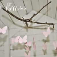 DIY: Butterfly Mobile (For The Playhouse)
