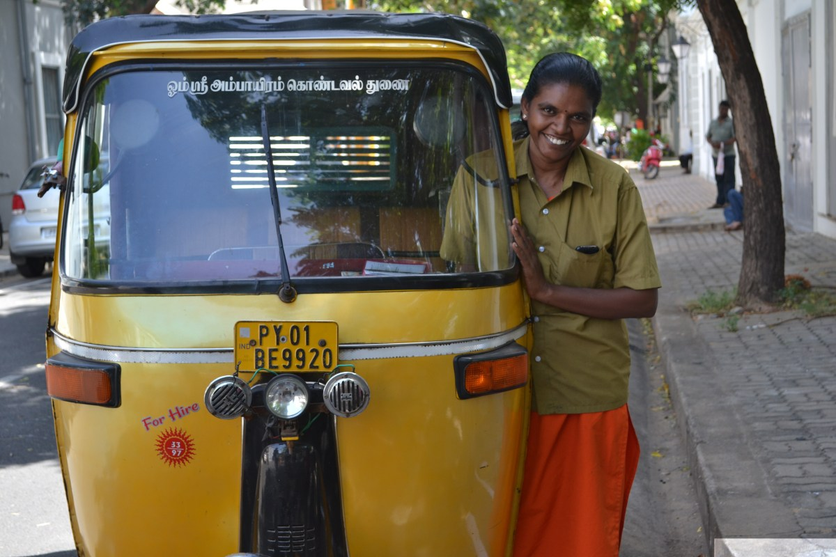 A Smile From Pondicherry
