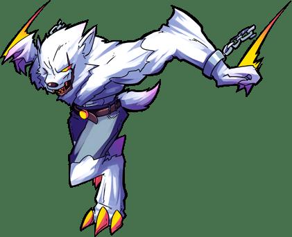 Rigel, A swift and powerful Rank 3 werewolf!