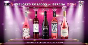 Cartel 5 Mejores Vinos Rosados de España 2016_2 © AkataVino.es