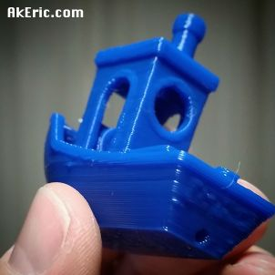 3dBenchy hot off the printer