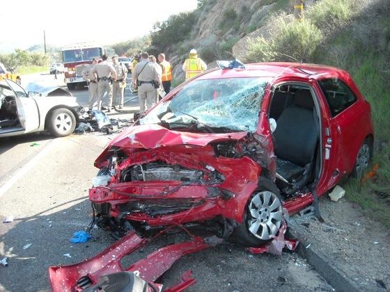 Kecelakaan jalan raya