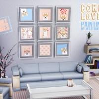 Corgi Lover Paintings
