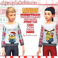 MINION Christmas Jumper for Kids
