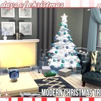 Moderne Weihnachtsbäume