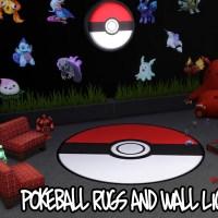 Pokemon Teppiche & Wandleuchten