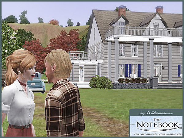 Notebook house wedding