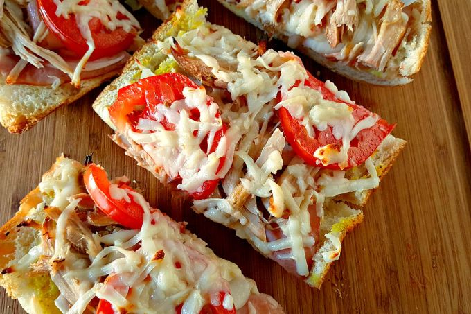 Cubano French Bread Pizza