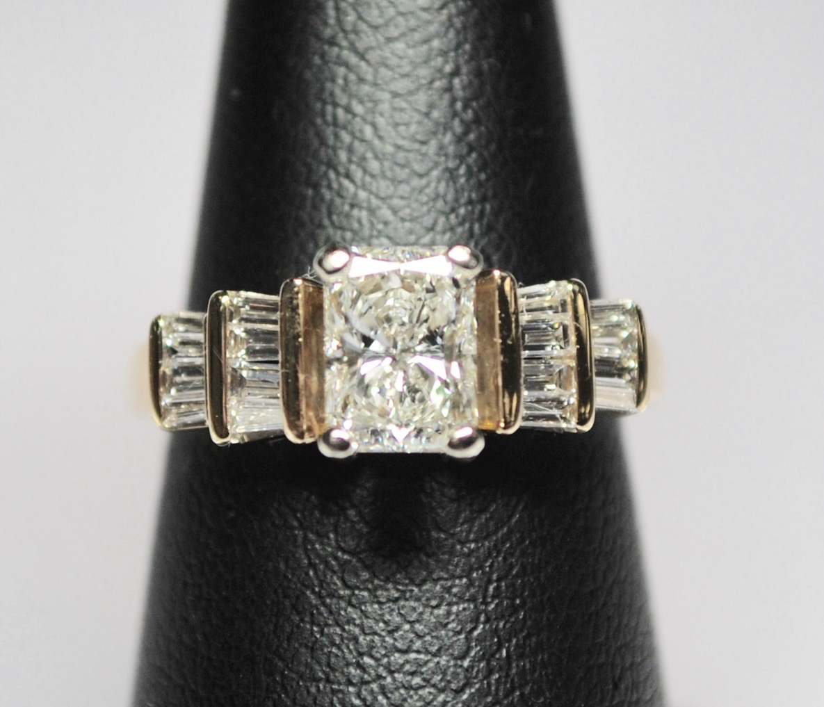 Fullsize Of Radiant Cut Engagement Rings