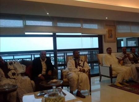 حفل الغداء الرسمي باقامة السفير المغربي بدولة الامارات العربية المتحدة