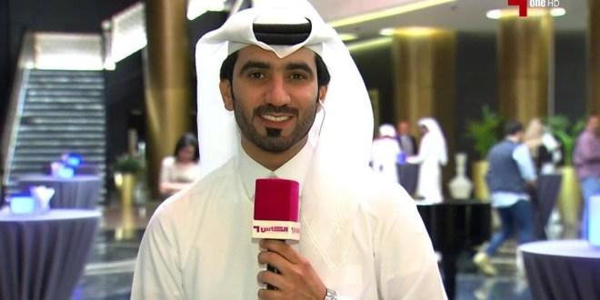 الاستاذ صالح عبدالله الانصاري مراسل ميداني بقنوات الكاس الرياضية دولة قطر