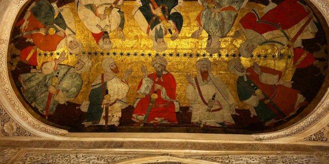 رسم يصور أول 10 ملوك لبني الأحمر الخزرج الانصار احفاد سيدنا سعد بن عبادة الساعدي الخزرجي الانصاري رضي الله عنه