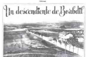 """مجلة La Estampa الإسبانية مقالا تحت عنوان """"سليل أبو عبد الله""""  سنة 1931م"""